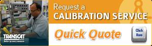 request a transcat calibration service quick quote